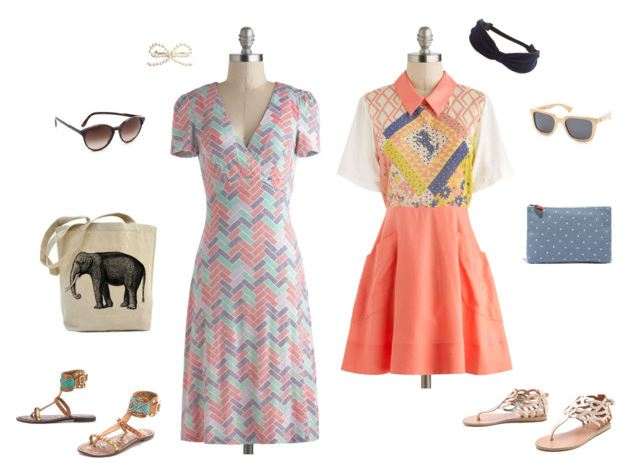 How She'd Wear It - print dresses 2