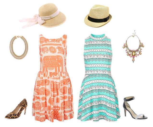 How She'd Wear It - print dresses