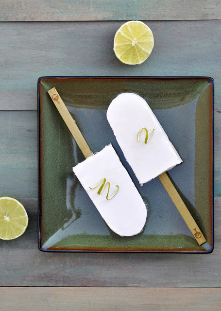 Coconut Lime Popsicles | Anja's Food for Thought – Talk about one ...