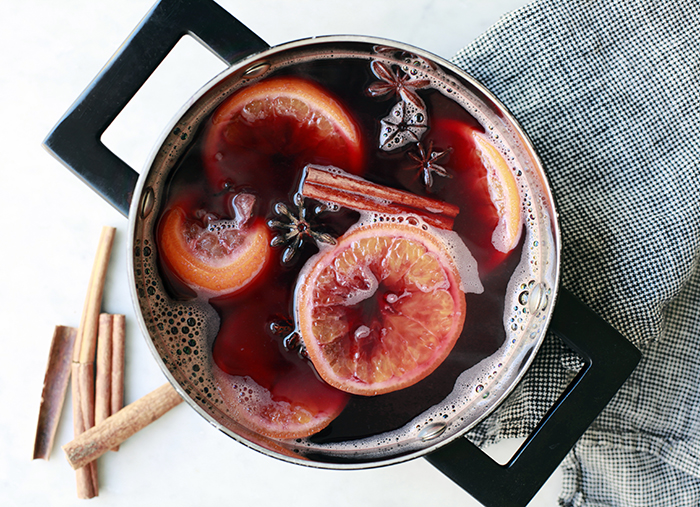 Mulled Pomegranate 'Wine Recipe — Dishmaps
