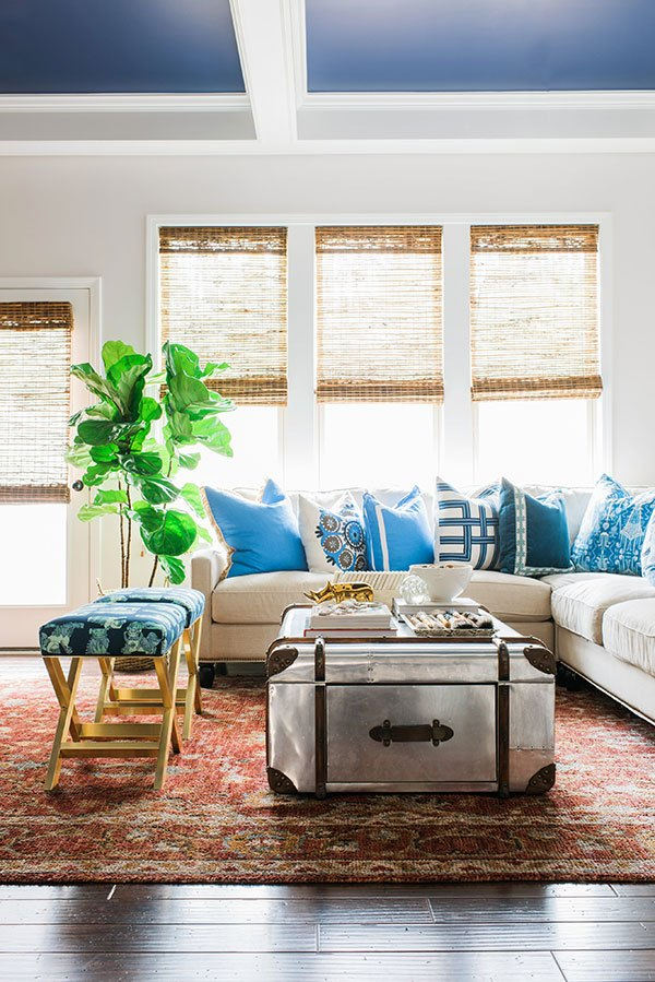 Pinterest picks fiddle leaf fig tree inspiration style for X bench living room