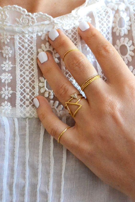 Pinterest Picks Metallic Nail Polish For Fall 2015