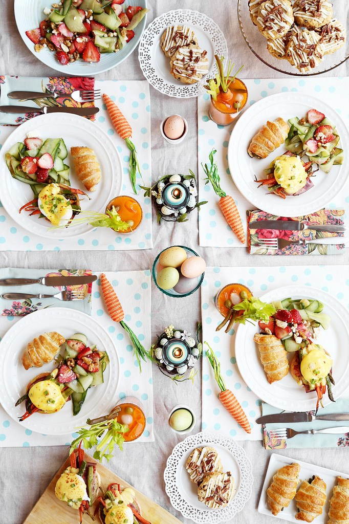 Pinterest picks easter ideas style and cheek Fun easter brunch ideas