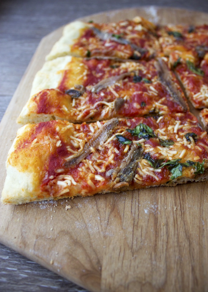 Anchovy Pizza - Style and Cheek