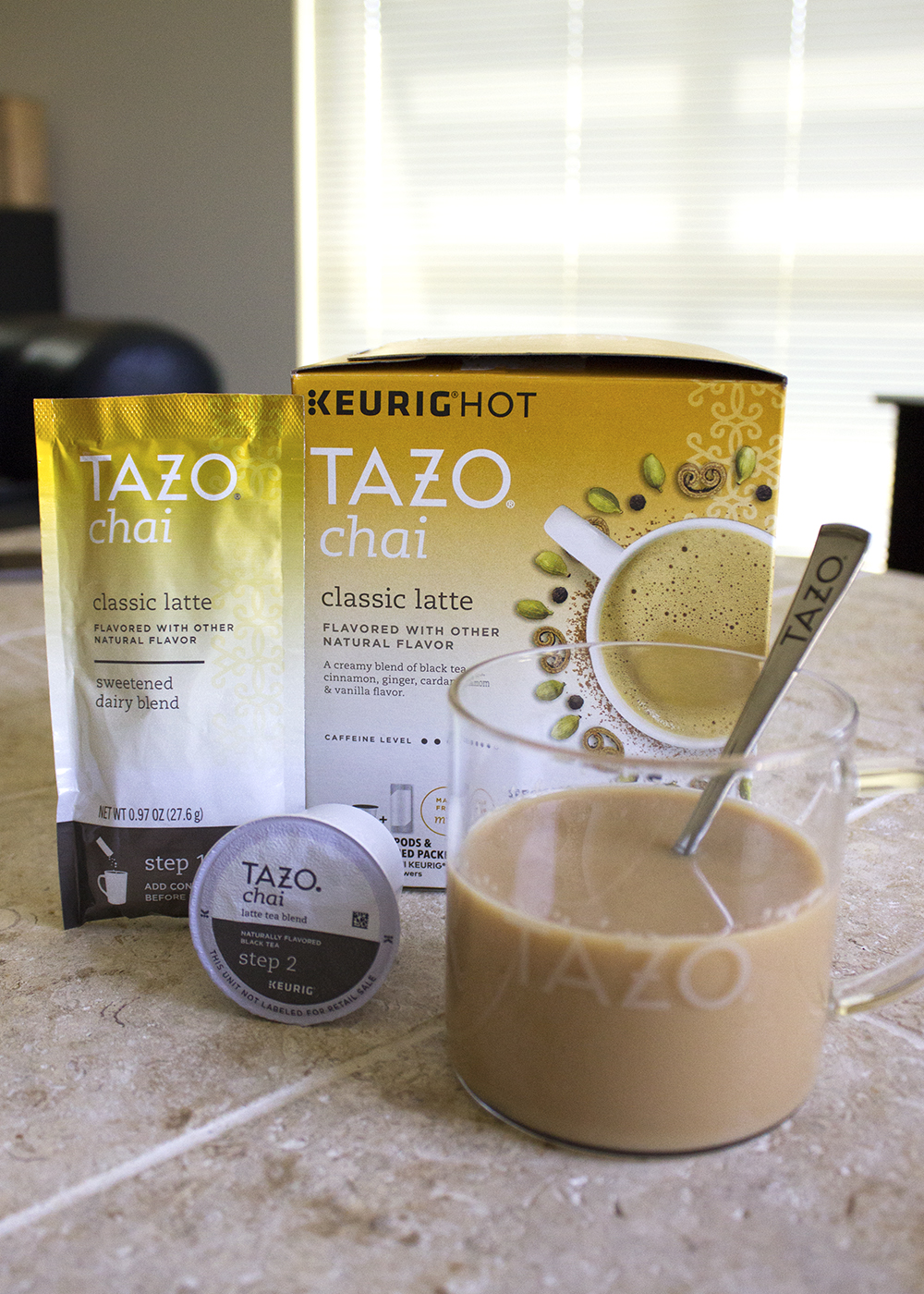 Spice Up Your Morning With Tazo 174 Chai Latte K Cup 174 Pods