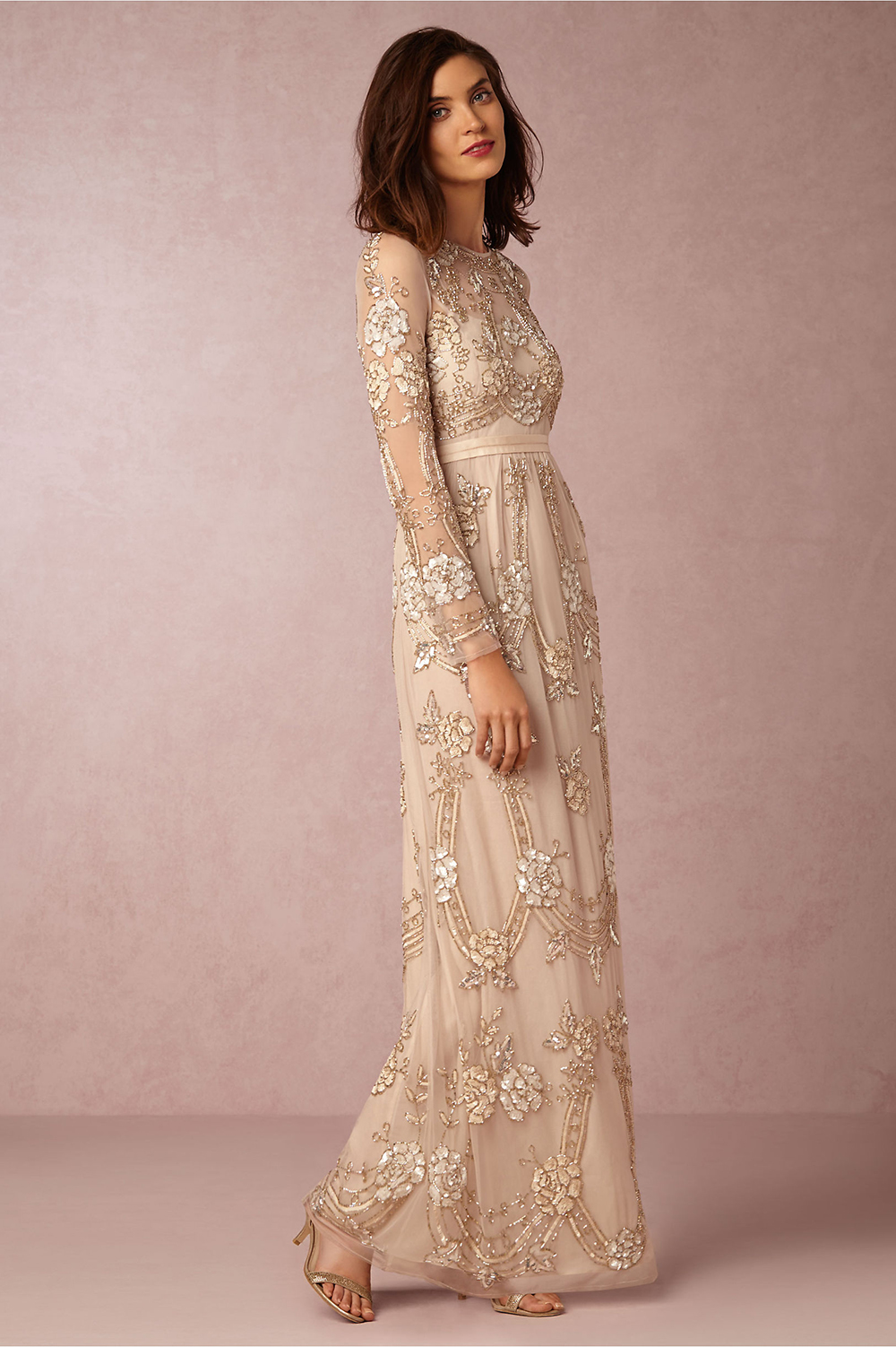 Fancy Friday Bhldn Wedding Gowns