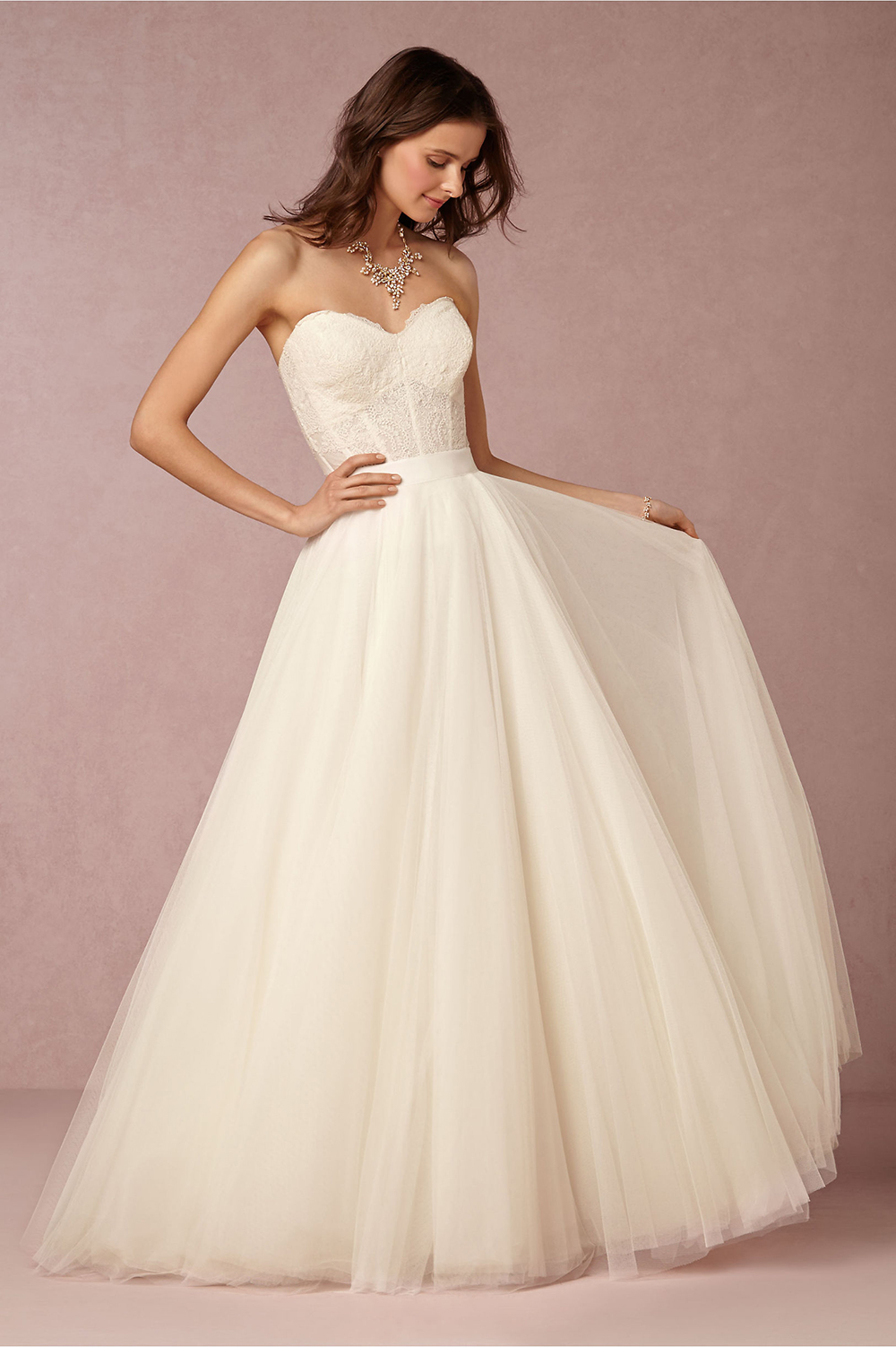 Fancy friday bhldn wedding gowns for Wedding dresses with a corset