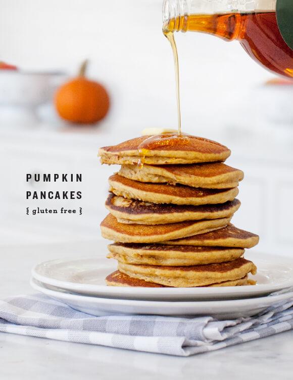 Gluten-free Pumpkin Pancakes | Love and Lemons - 10 Sweet Pumpkin ...