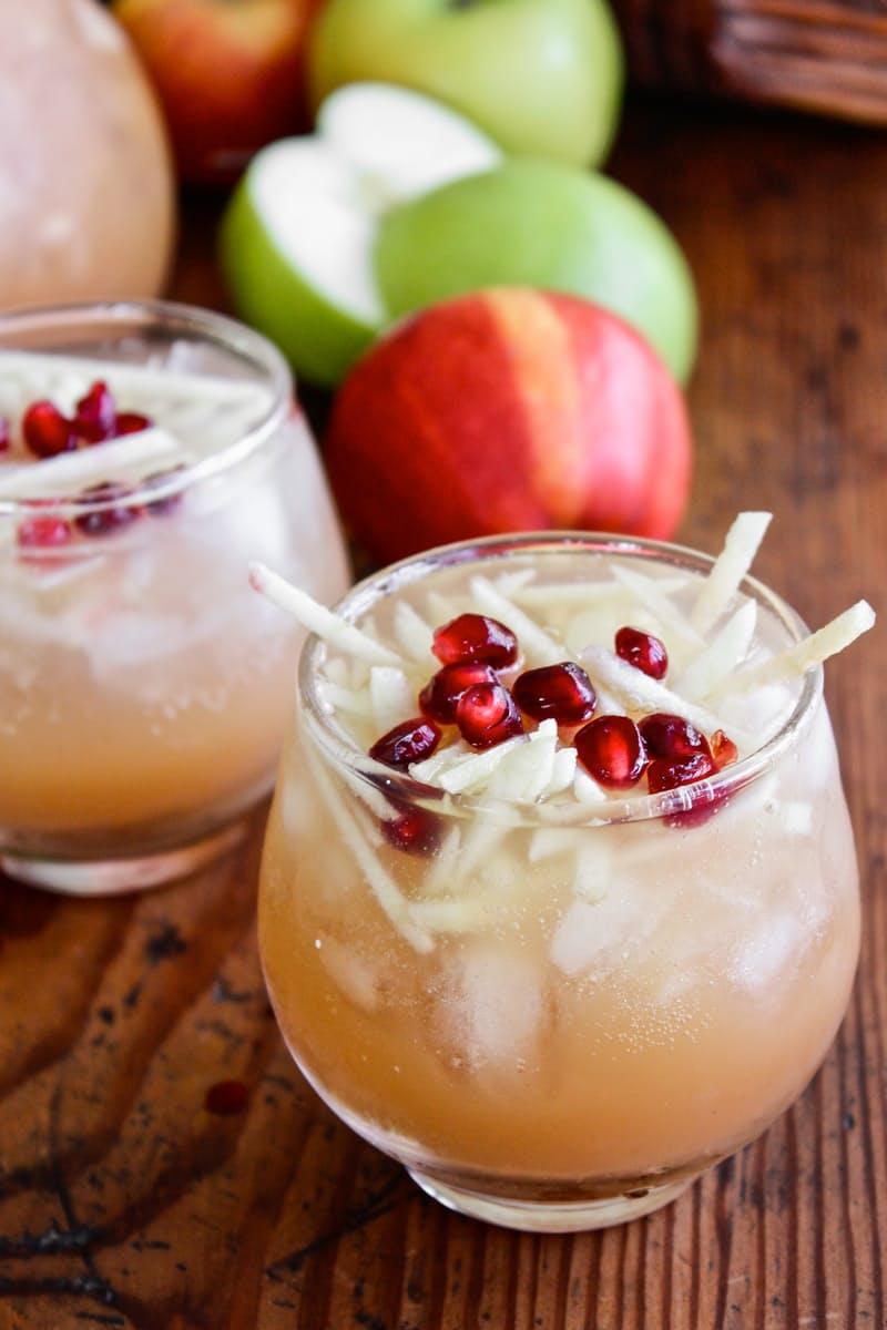 Pitcher Cocktail Recipe- Sparkling Apple Cider Sangria | The Kitchn ...